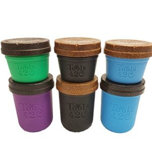 Re-Stash 8 oz and 4 oz Cannabis Storage Jar All Colors