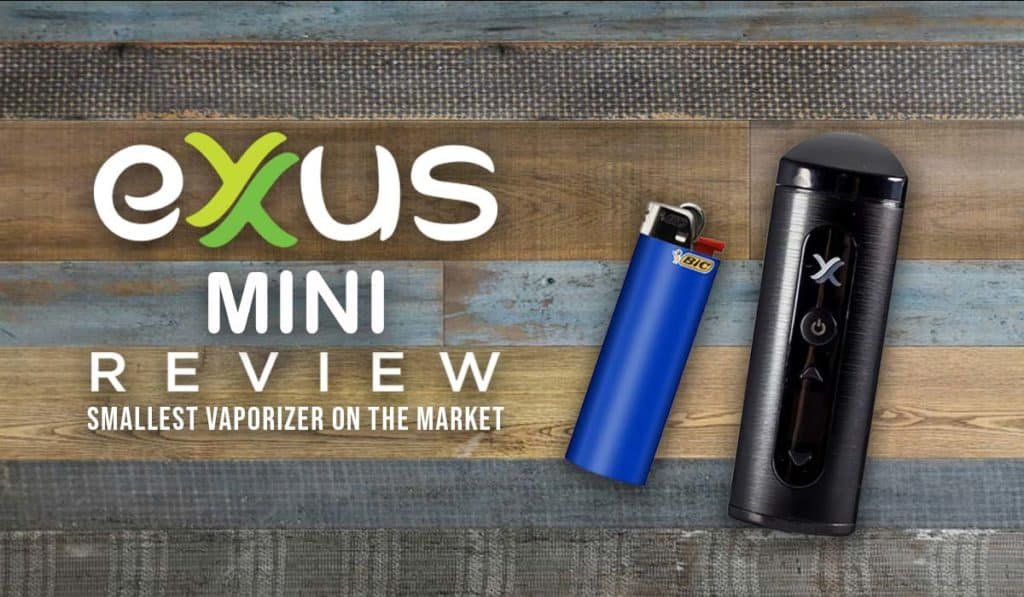 Exxus Mini Review - Smallest vaporizer on the market - Tools420