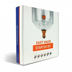 Easy Valve Starter Set Packaging
