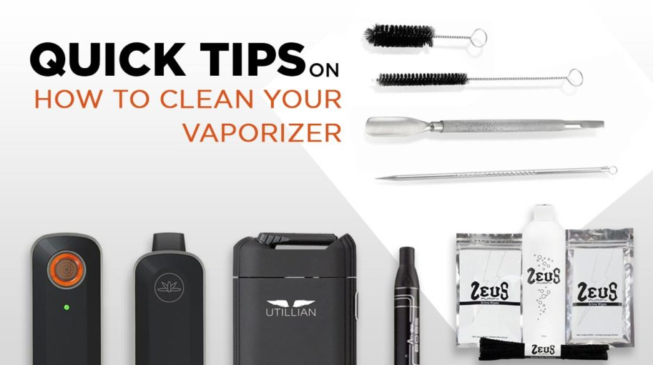 How to Clean Your Vaporizer