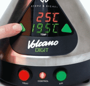 Digital Volcano Display