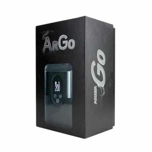 Arizer ArGo Vaporizer Packaging