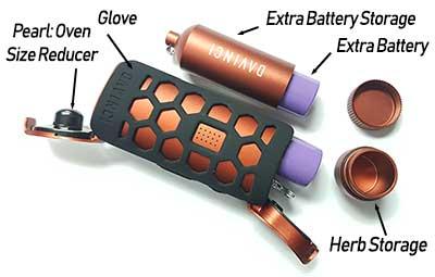 Davinci MIQRO Batteries