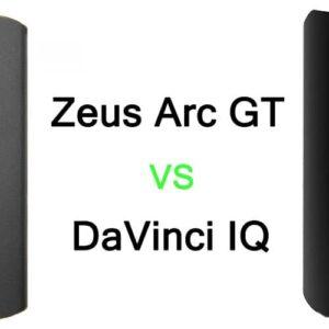 Zeus ARC Vaporizer VS DaVinci IQ Vaporizer