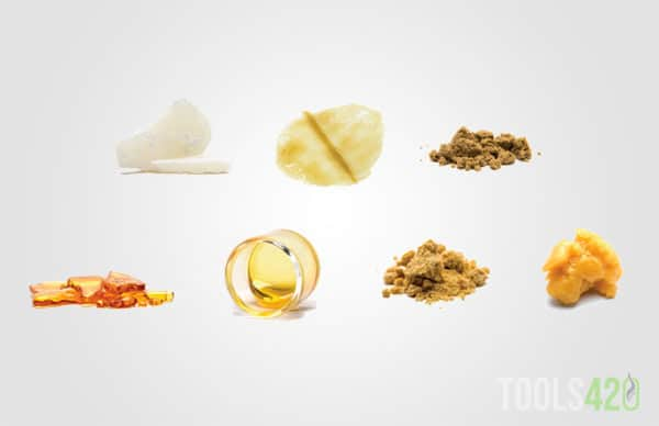Different Types of waxy oils