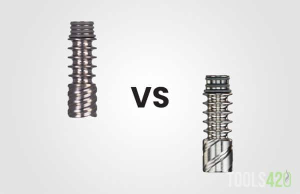 Titanium tip vs stainless steel tip for Dynavap induction heaters